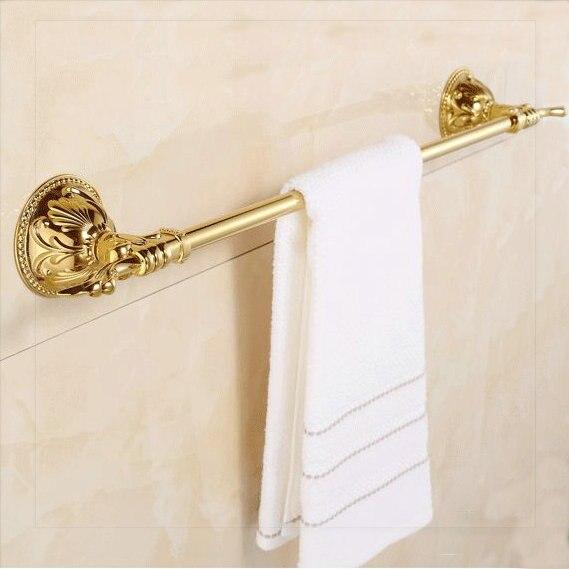 2014new arrivo ottone singola barra di colore dorato anello di tovagliolo accessori bagno porta