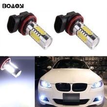 Boaosi 2X9006 HB4 7.5 Вт Samsung СИД DRL Туман свет лампы для BMW E63 E64 E46 330Ci