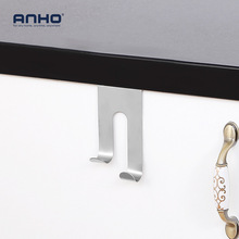 Stainless steel wardrobe cabinet door office desk drawers without trace hook