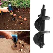 Brocas en espiral para jardín, novedad de 2019, accesorios para plantar bulbos de cama, plántulas