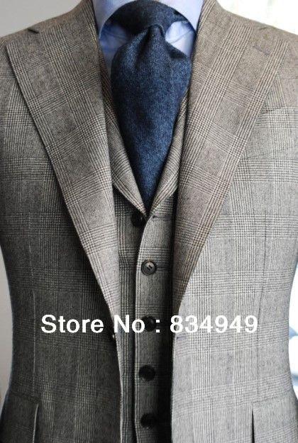Online Get Cheap Mens Checkered Wool Jacket -Aliexpress.com ...
