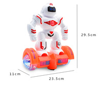 Robot Toy Electronic Auto Sensing To Avoid Obstacles Robot Pet Walking Dancing Lightning Musical Toys For