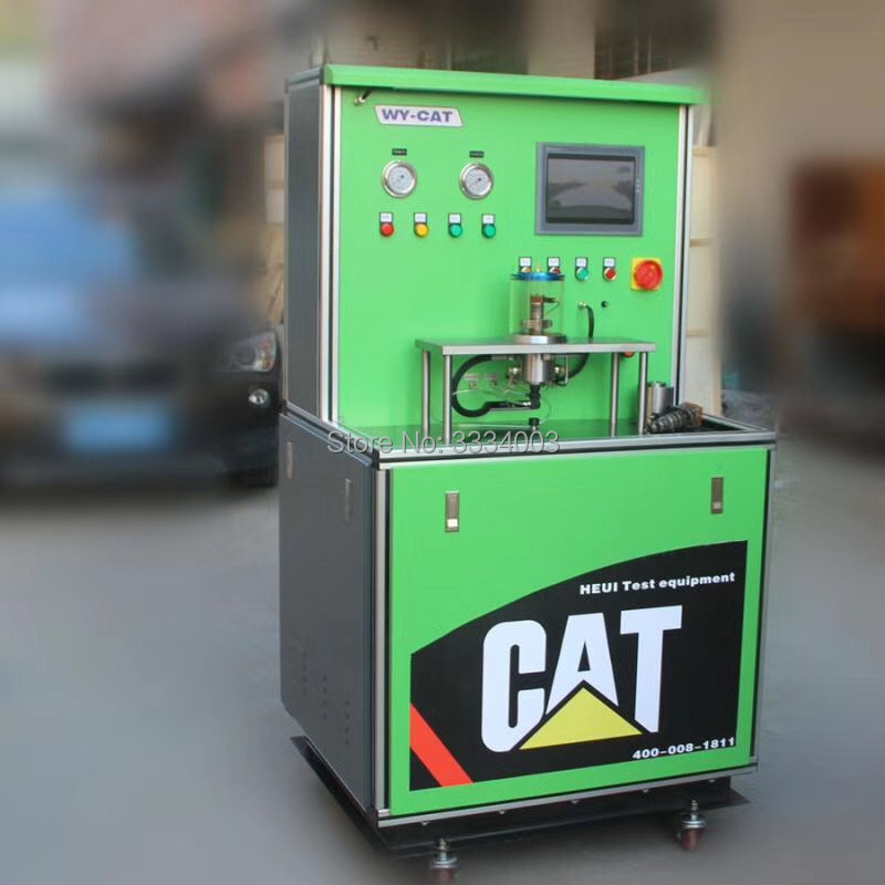 AM-200P Medium pressure common rail injector test bench for CAT C7 C9 3126B  HEUI injectors, common rail HEUI injector tester