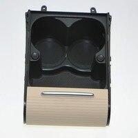 1Pcs Car Beige Cup Holder Center Console Water Cups Drink Racks For VW CC PASSAT B6 B7 CC 3CD858329A 3CD 858 329 A 3C0 858 329