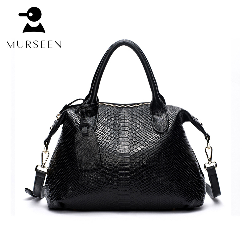 8160e61085b3 2017 New Fashion Women Large Handbag High Quality Genuine Leather Ladies  Serpentine Shoulder Bag Famous Designer Brand Tote Bags - aliexpress.com -  imall. ...