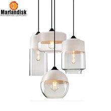 Стиль, современный подвесной стеклянный абажур, подвесной светильник, светильники e27/e26 для гостиной, кухни, ресторана, спальни