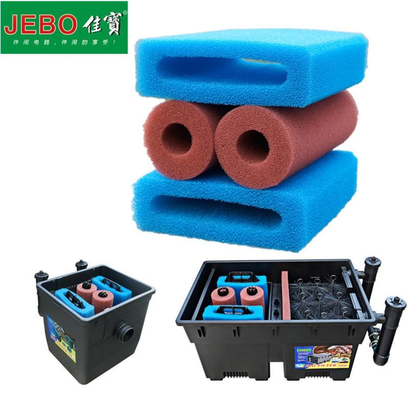 1 Set JEBO Original Filter Cotton For 100I 100II 100III 50IA 50IB Exteranl Filter Tank Filter Sponge Ordinary/Biochemical