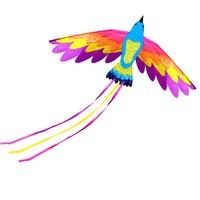 Профессиональный 330 см Мощность/Огромный Китайский Феникс кайт/Орел животных воздушных змеев с развевающимися инструменты игрушки воздушн...