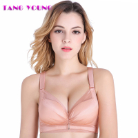TANG YOUNG Brand Fashion Sexy Women Underwear Comfortable Wireless Bralette Underwear 3 4 Cup Women Breathable