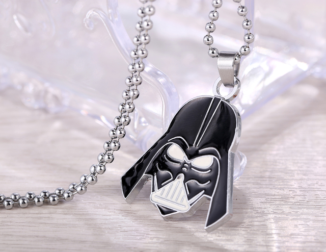 Star Wars Darth Vader Metal Necklace Pendant Jewelry Accessories