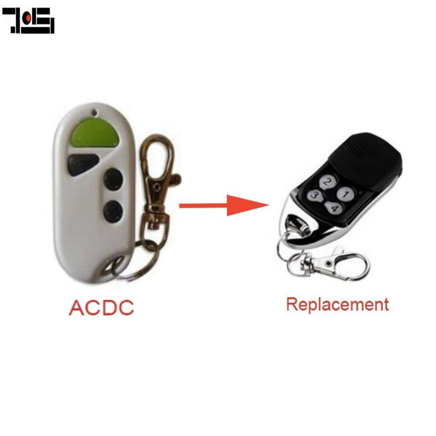 Zugangskontrolle Praktisch 10 Stück Acdc 433 Mhz Austauschs Fernbedienung Garage Tor Fob Rolling Code Diversifiziert In Der Verpackung Sicherheit & Schutz