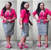 XXXL New style African Women clothing Dashiki fashion Print cloth one piece dress size L XL XXL
