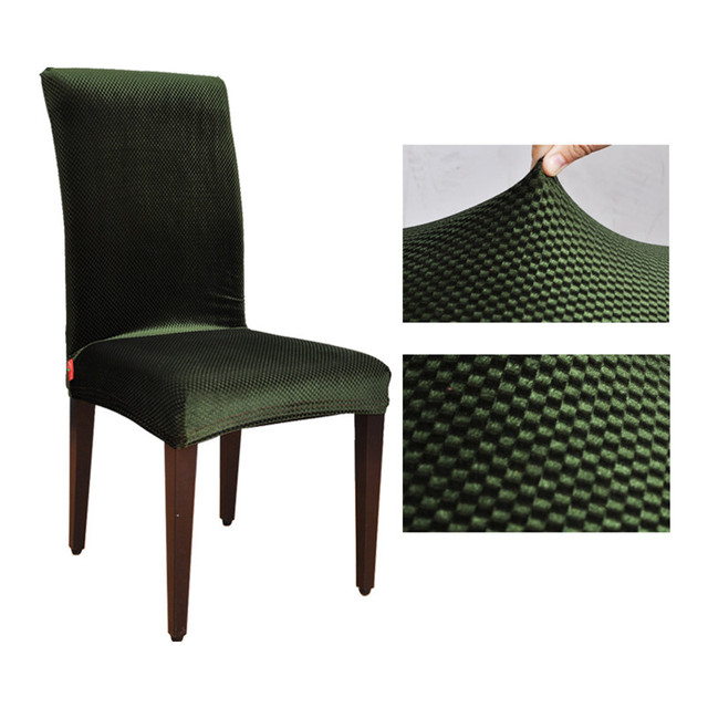 jacquard spandex stretch dining chair covers machine washable