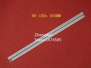 Image 3 - 10 أجزاء/وحدة LED شريط إضاءة خلفي لشارب LC 40LE511 40BL702B LE4050b LE4052A LE4050 LE4052 LJ64 03567A LJ64 03029A LTA400HM08