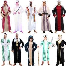 53a4f7b2a243 arab clothing kids chileren boys greek goddess Cosplay Princess Costumes  Arabic Prince Fancy Dress Party Halloween