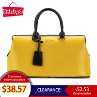 Bvlriga Women Handbag Genuine Leather Handbag Ladies Bag 2019 Yellow Bag For Women Luxury Handbags Women Bags Designer