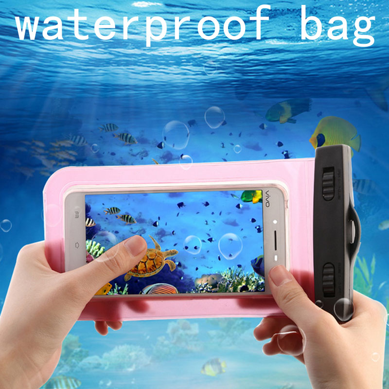 New Clear Waterproof Pouch Dry Case Cover For Nokia Lumia 215 Phone Camera Mobile phone Waterproof Bags For Nokia 215