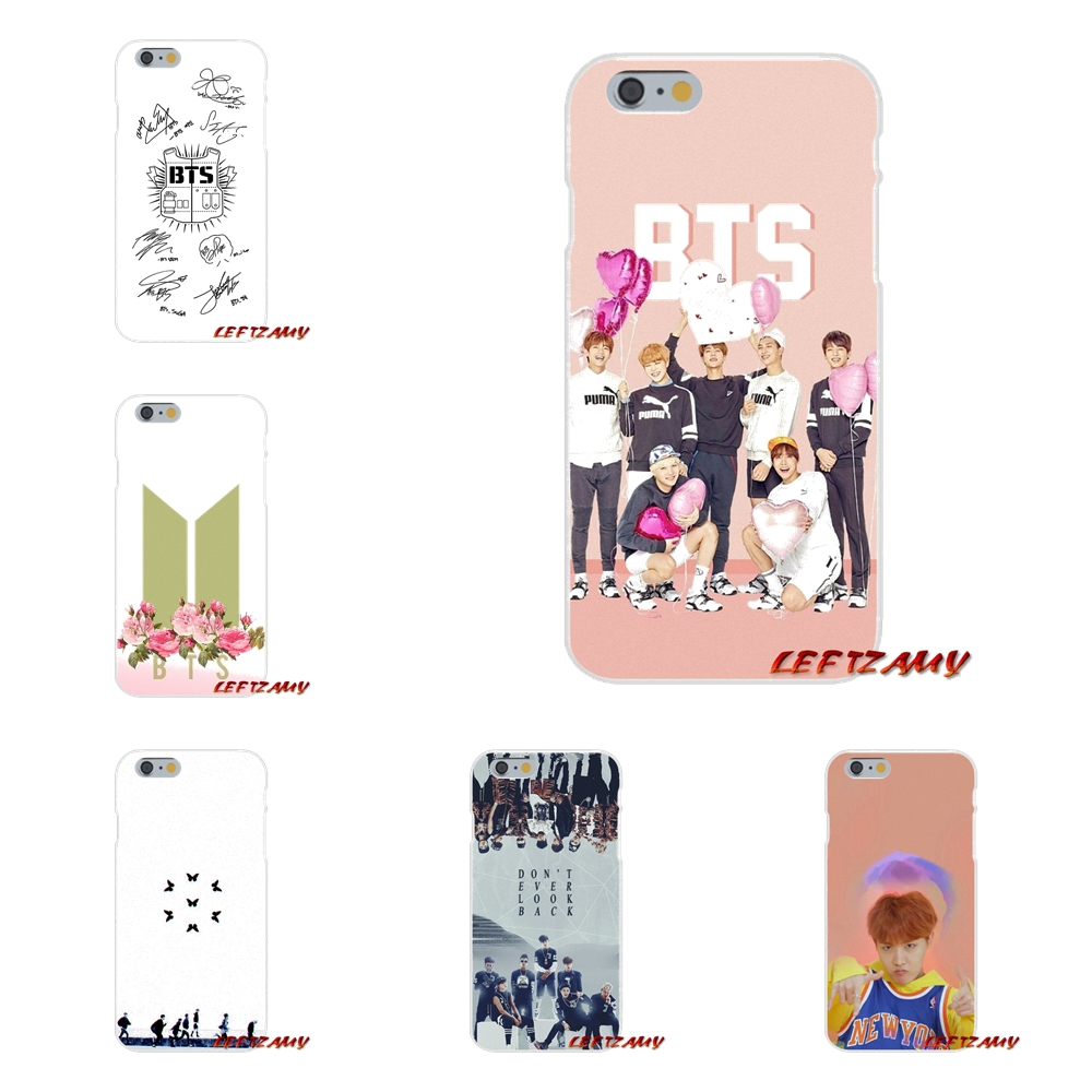 Fitted Cases The Cheapest Price Sheli Bts Bangtan Wings Album Frosted Softness Transparent Case Cover For Iphone X Xs Xr Max Se 5 5s 6 6s 7 8 Plus