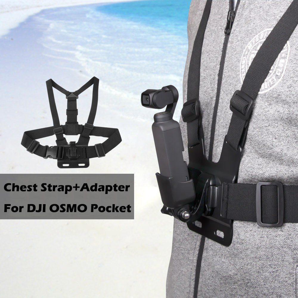 Backpack Clamp Handheld Gimbal Belt Band Chest Strap DJI Osmo Pocket Camera Expansion Adapter Mount Accessories