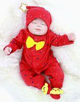 22 Inch Reborn Babies silicone popular high quality vinyl Newborn sleeping quiet Dolls for sale children play house toy