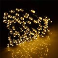 AC 220V 12W 20M IP44 200-LED String Lights with EU-plug for Garden / Room / Holiday / Christmas Decoration (Warm White) New Year