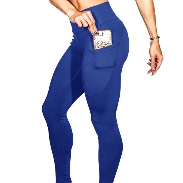 Yoga Pants With Pockets S-XL Women Sport Leggings 5