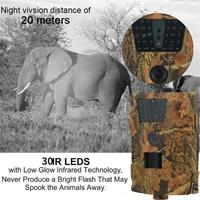 HD 1080P HT 001B Hunting Trail Camera Infrared LEDs 850nm IR Hunting Traps Wildlife Trail Camera Night Vision Animal Photo Traps