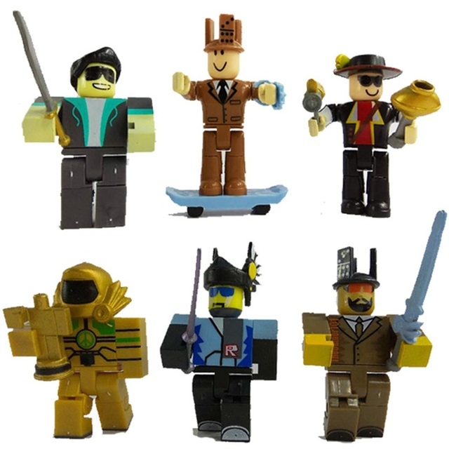 6pcs Robloxed Action Figure 7-8cm Game Robloxing Boys Toys Christmas Gift Cartoon Collection Ornaments Toys Doll For Children