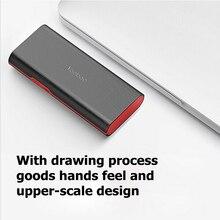 Banco de Potência Todo o Telefone USB para Iphone Yoobao 10000 MAH Powerbank Carregador Portátil Dual 5 Cobrar 410% para