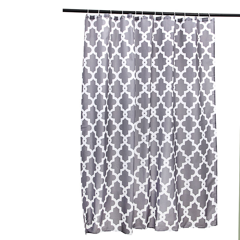 180x180CM Water Repellent Fabric Shower Curtains Liners 45x120CM Microfiber Bathroom Accent Rugs Bath Flocking Mat In From Home