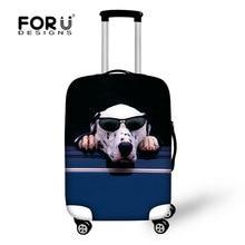 2016 Hot vente 3D chien et chat set de bagages élastique couverture pour filles garçons hommes bagages de protection pluie couvre pour 18 – 30 polegada valise
