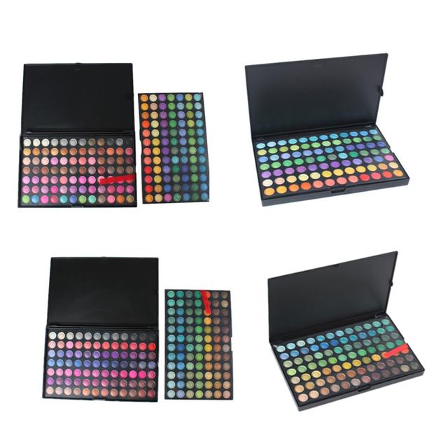 Alta Qualidade Profissional Sombra Eye Shadow Palette de Maquiagem Cosméticos Set Kit