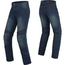 BENKIA Men Women Motorcycle Pants Motocross Racing Denim Pants Protective Riding Jeans Unisex Pantalon Motocross Trousers PC54