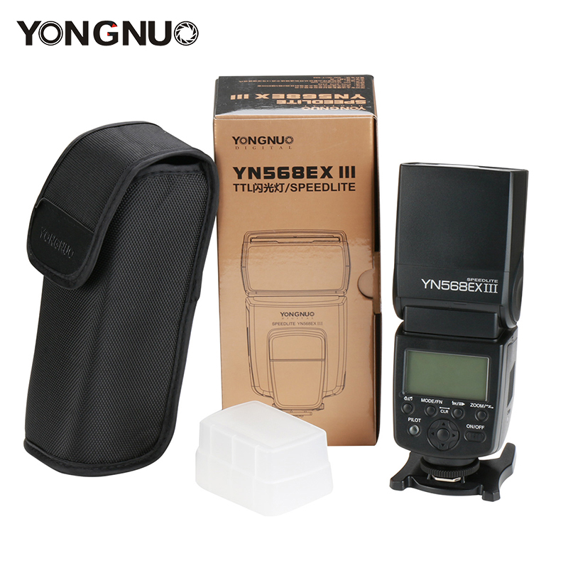 Yongnuo YN568EX III Wireless Camera Flash TTL HSS Speedlite 1/8000s YN568EX II for Canon E-TTL/E-TTL II 700D Nikon D7100 D750 nissin di600 фотовспышка для canon e ttl e ttl ii