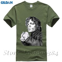GOT GAME OF THRONES THE IMP Tyrion Lannister GAME OF THRONES T Shirt Top Cotton Fashion