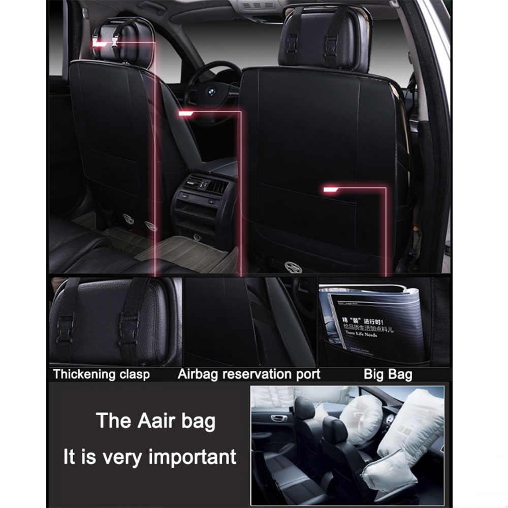Сиденья для Honda подходит для CIVIC Accord идеально подходит для Suzuki Swift/Suzuki sx4 Fiat Punto Защитные чехлы для сидений, сшитые специально для Toyota corolla rav4 chr yaris Camry Reiz avensis Pruis таможенный приходной ордер