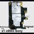 Оригинал Материнская Плата для Sony Xperia Z1 L39H c6902 C6903 L39T L39U материнская плата, тест большой woking перед отправкой хорошие рабочие