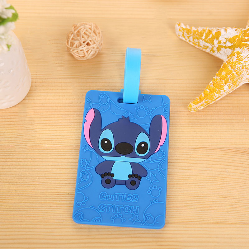 Cute Cartoon Travel Accessories Luggage Tag Funky Suitcase Label Strap Creative Gift Baggage Tags Identifier Travel Tags cute cartoon travel accessories luggage tag funky suitcase label strap creative gift baggage tags identifier travel tags