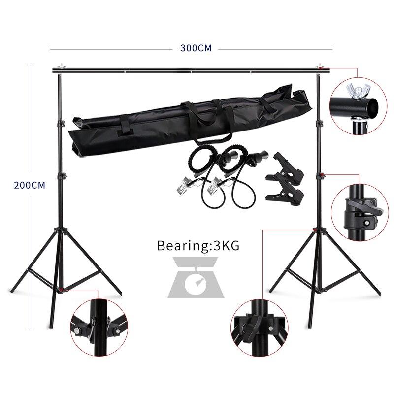 Kulissen Rahmen Hintergrund Unterstützung System Fotografie Studio Hintergrund Halter Kamera & Foto Zubehör + Tragen Tasche