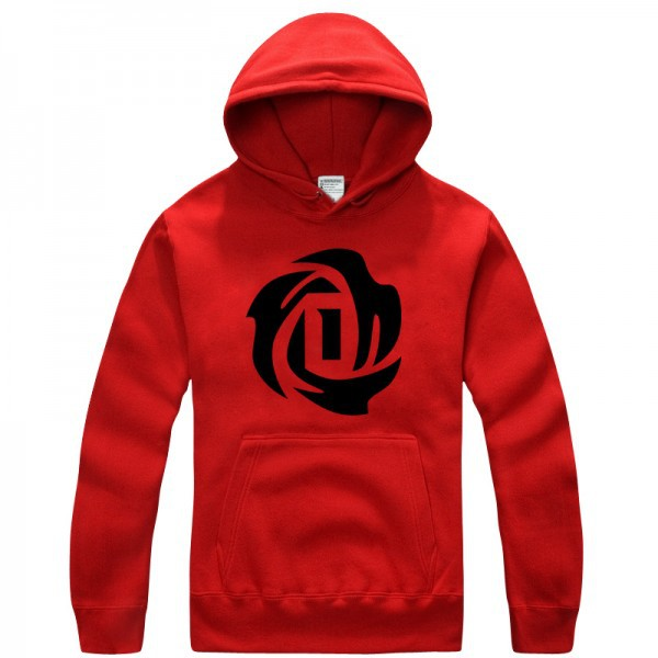 Bulls No.1 Derrick Rose logo pullover hoodie sweatshirt -in Hoodies    Sweatshirts from Men s Clothing on Aliexpress.com  b08eacb8f196