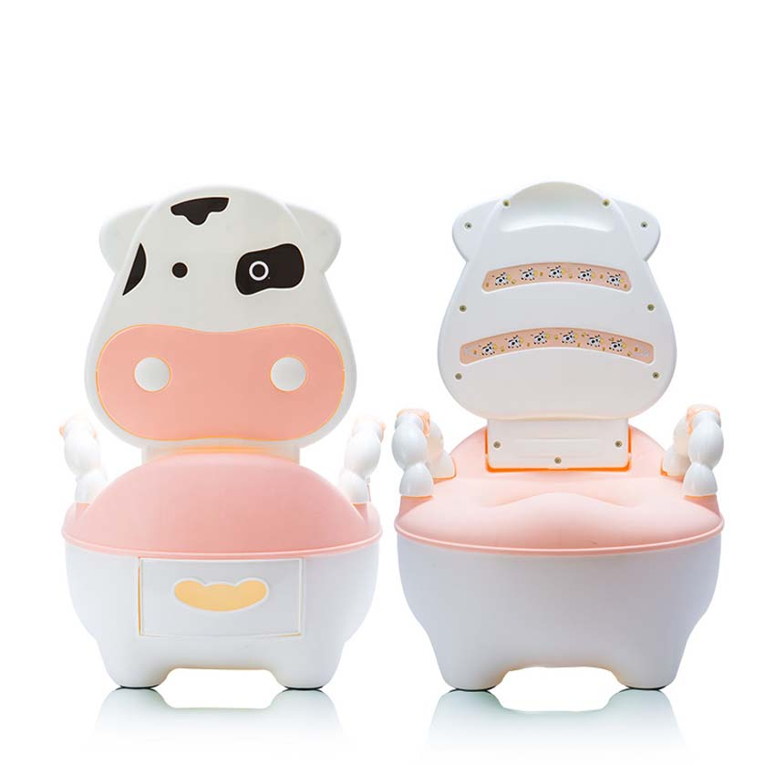 Cowco Cartoon Baby Seat Toilet Potty Seats Portable Toilet Folding Ladder Chair New Brand Easy To Carry Easy To Washing premintehdw abs wall mount bathroom folding seat fold up seats shower rv seat