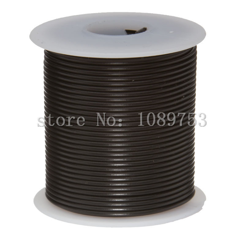 30 Meters/roll UL1007 24 AWG Stranded Hook Up Wire Green 300 Volts ...