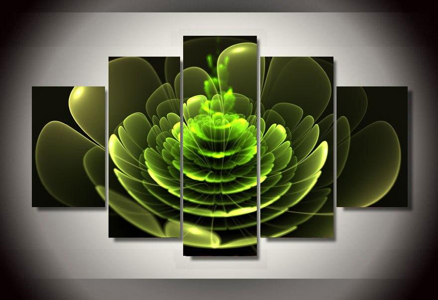 buena calidad cartel grande hd colorful flowers modernos pinturas sobre lienzo cuadros sin marco modular de