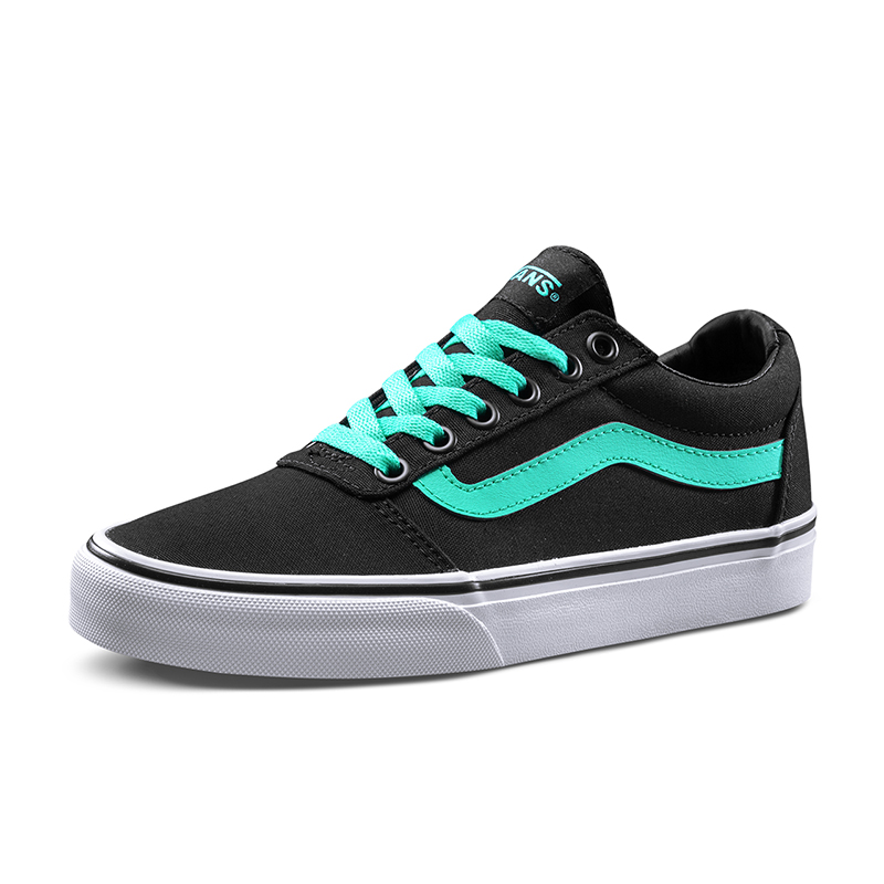 121ffe9cf4ef Original New Arrival Vans Womens Active Ward Low-top Skateboarding Shoes  Sneakers Canvas Comfortable Sport Outdoor VN0A3IUNR78