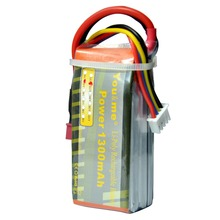 You RC battery 3S 11.1V 1300mah 25C-50C Amass little mini Dean plug For Helicopters 250 FPV EDF DRONE