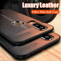 Luxury Ultr Thin Leather Soft Case On The For Samsung Galaxy A20 A30 A40 A50 M10 M20 M30 A7 A8 Plus 2018 Shockproof Case Cover
