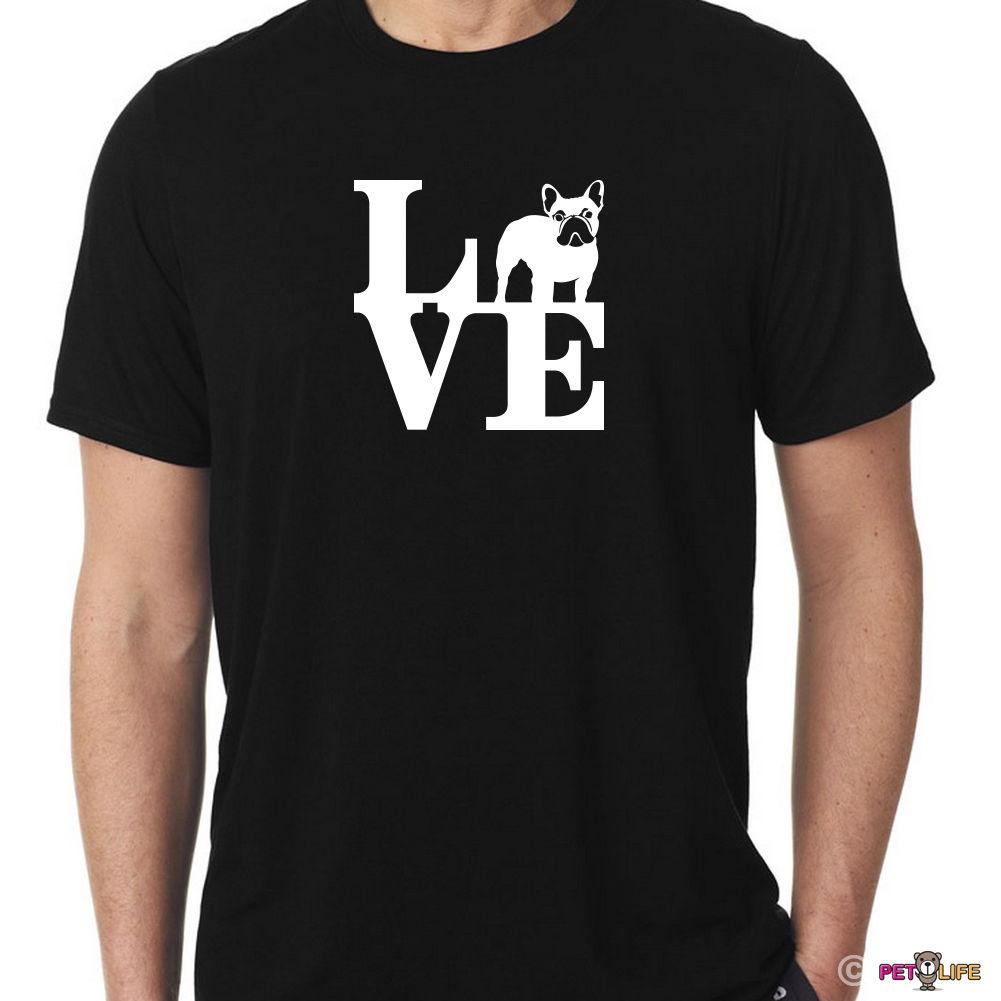 2018 крутая футболка люблю Французский бульдог футболка парк frenchie летняя футболка