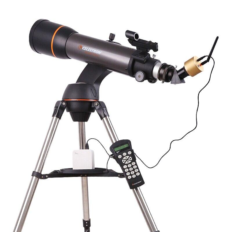 AngelEyes золото смарт-Wi-Fi Беспроводной окуляр HD 2MP PIXEL Профессиональный телескоп аксессуары часы звезды вид ...