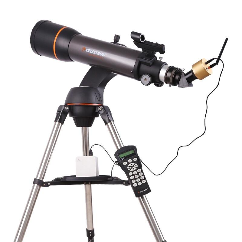 Angeleyes Gold Smart Wifi Wireless Eyepiece HD 2MP Pixel Professional Telescope Accessories Watch Stars View