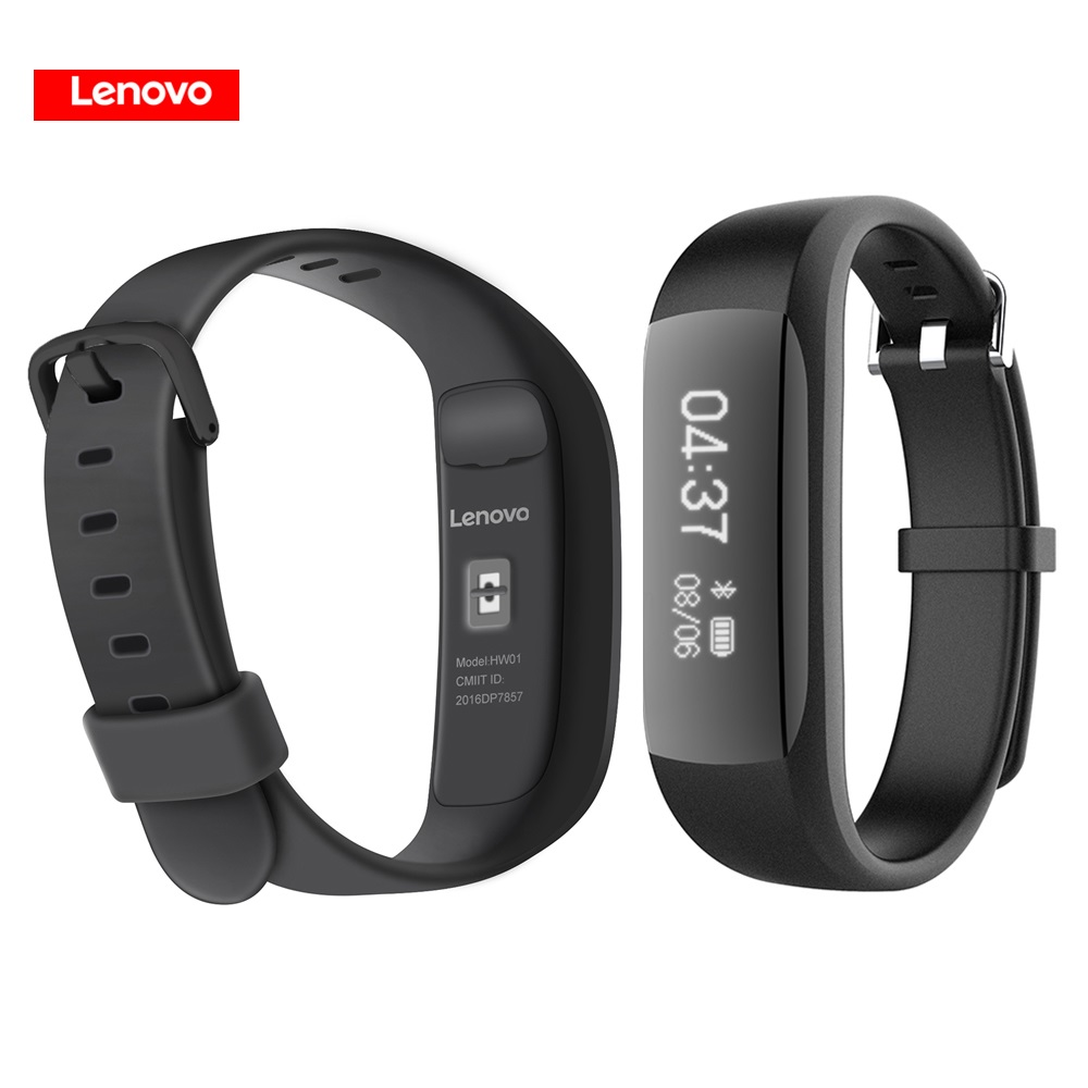 Original Lenovo HW01 Smart Band Wristband with Bluetooth 4.2 Heart Rate Moniter Pedometer Sports Fitness Tracker for Android iOS картаев павел smart band hw01 отпечатки войны